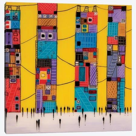 City IV Canvas Print #ERM69} by Ekaterina Ermilkina Canvas Wall Art