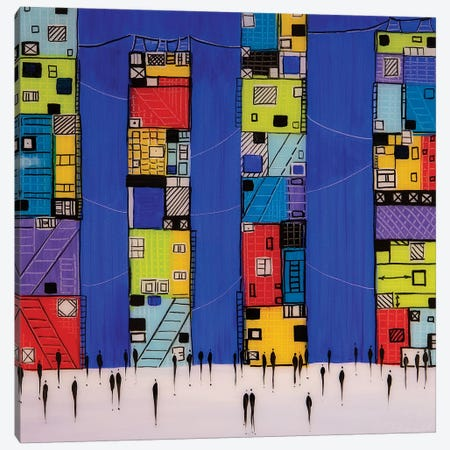 City III Canvas Print #ERM70} by Ekaterina Ermilkina Art Print