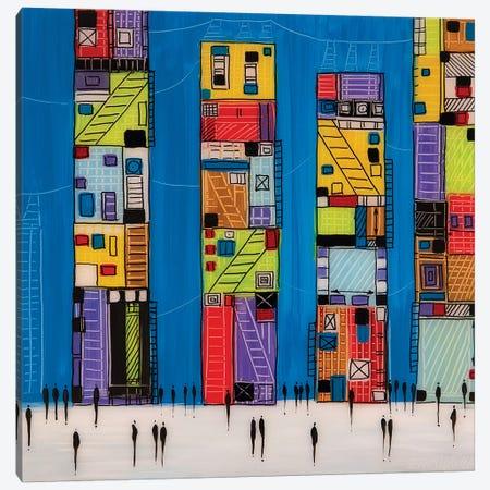 City V Canvas Print #ERM71} by Ekaterina Ermilkina Canvas Print