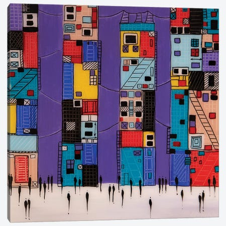 City VI Canvas Print #ERM72} by Ekaterina Ermilkina Canvas Print
