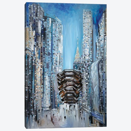 Hudson Yards Canvas Print #ERM78} by Ekaterina Ermilkina Canvas Art Print