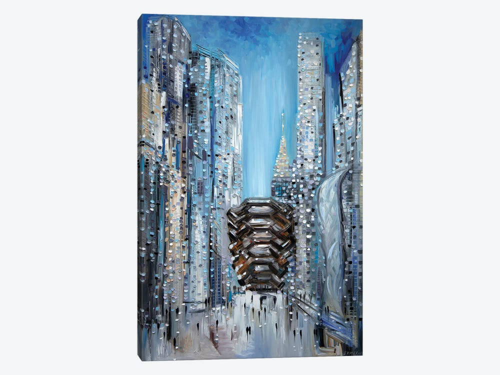 Hudson Yards by Ekaterina Ermilkina 1-piece Canvas Art