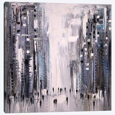 My City Canvas Print #ERM84} by Ekaterina Ermilkina Art Print