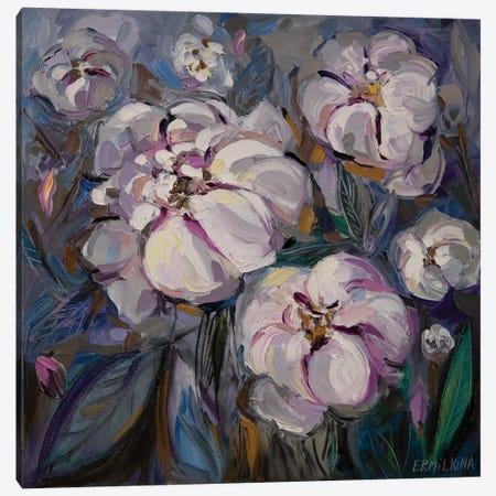Flowerland Canvas Print #ERM92} by Ekaterina Ermilkina Canvas Art Print