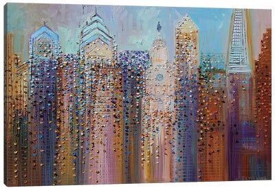 Philadelphia Dream Canvas Art Print