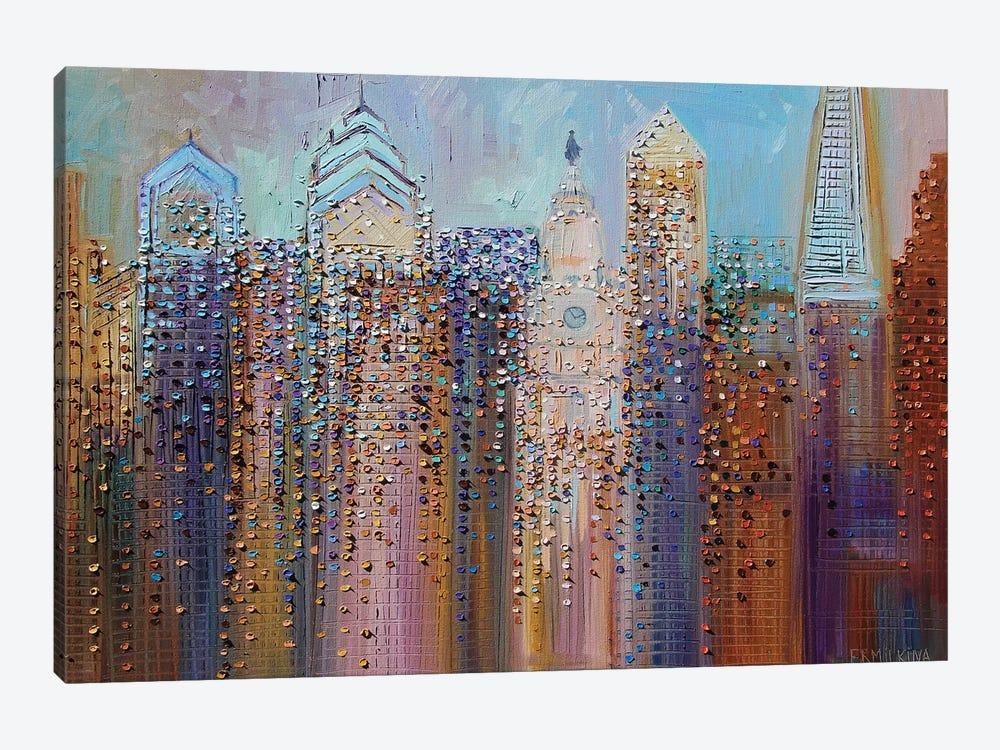 Philadelphia Dream by Ekaterina Ermilkina 1-piece Canvas Print
