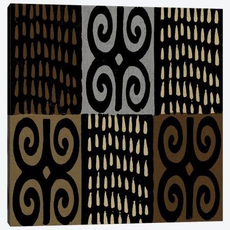 Mudcloth Geometric Design V Canvas Print #ERO100} by Ellie Roberts Art Print