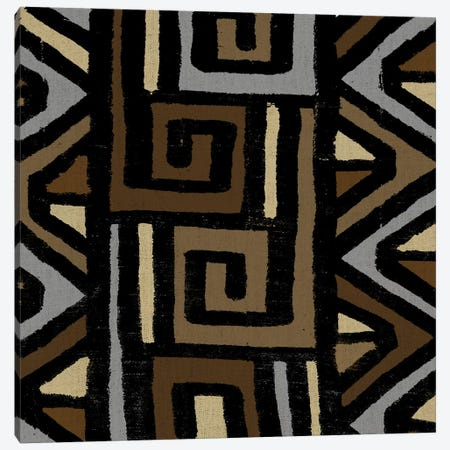 Mudcloth Geometric Design VI Canvas Print #ERO101} by Ellie Roberts Canvas Print