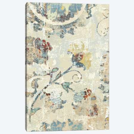 Adornment Panel II Canvas Print #ERO11} by Ellie Roberts Art Print