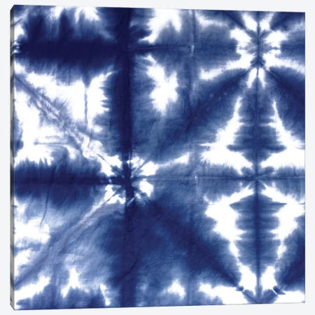 Shibori Dyed Decoration II Canvas Print #ERO121} by Ellie Roberts Canvas Art Print