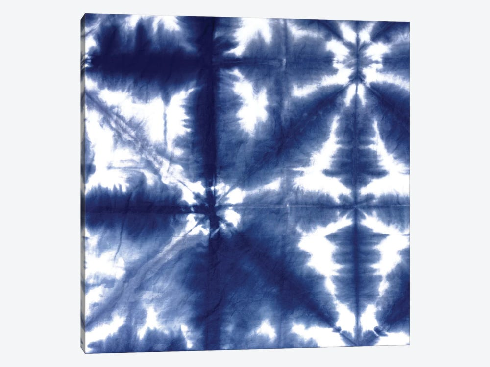 Shibori Dyed Decoration II by Ellie Roberts 1-piece Canvas Print