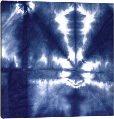 Shibori Dyed Decoration III Canvas Art Print