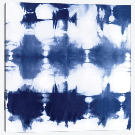 Shibori Dyed Decoration IV Canvas Print #ERO123} by Ellie Roberts Canvas Art Print