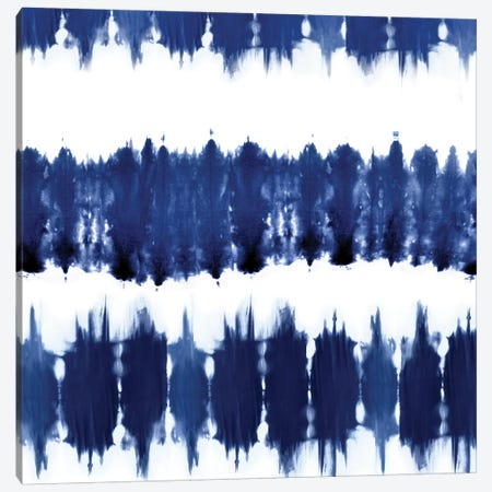 Shibori Dyed Decoration VI Canvas Print #ERO125} by Ellie Roberts Canvas Wall Art