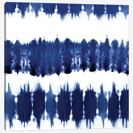 Shibori Dyed Decoration VI Canvas Print #ERO125} by Ellie Roberts Canvas Wall Art