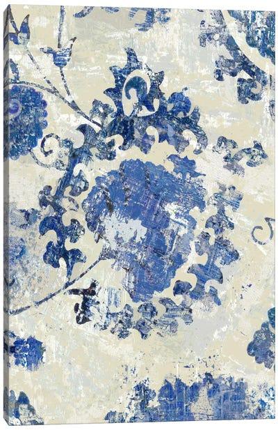 Adornment Panel Indigo I Canvas Print #ERO12