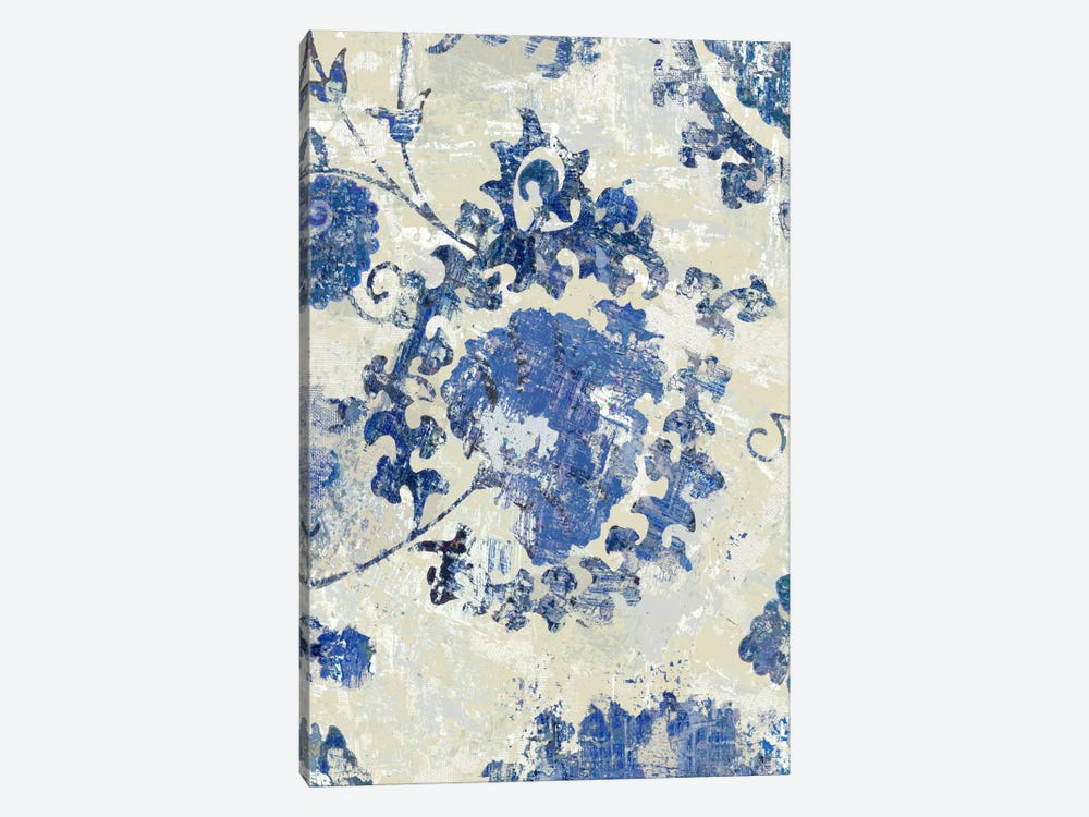 Adornment Panel Indigo I by Ellie Roberts 1-piece Canvas Art Print