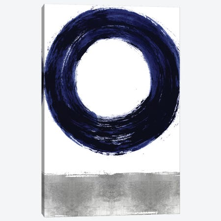 Gravitate Blue I Canvas Print #ERO130} by Ellie Roberts Canvas Artwork