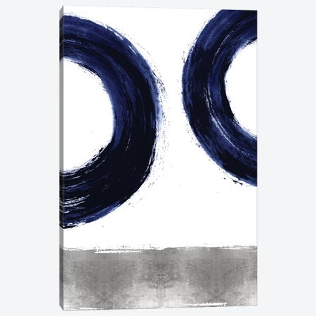 Gravitate Blue II Canvas Print #ERO131} by Ellie Roberts Canvas Artwork
