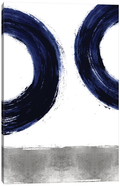 Gravitate Blue II Canvas Art Print