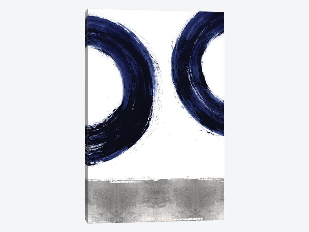 Gravitate Blue II by Ellie Roberts 1-piece Canvas Art