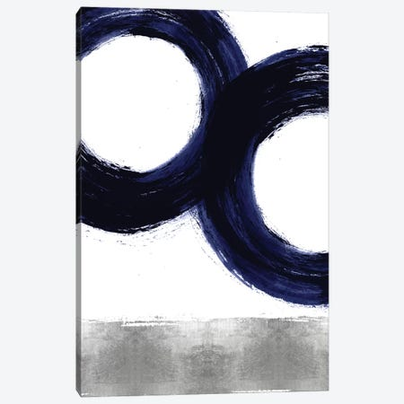 Gravitate Blue III Canvas Print #ERO132} by Ellie Roberts Canvas Artwork