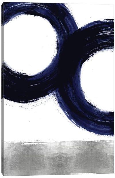 Gravitate Blue III Canvas Art Print