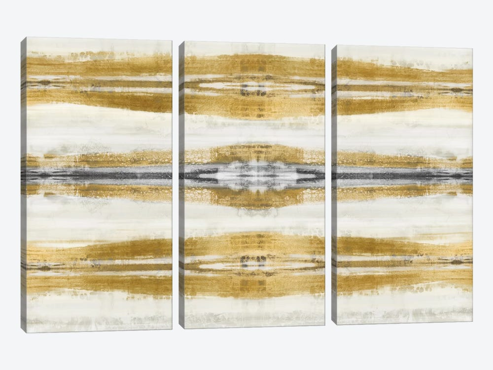 Eminent In Gold I by Ellie Roberts 3-piece Art Print