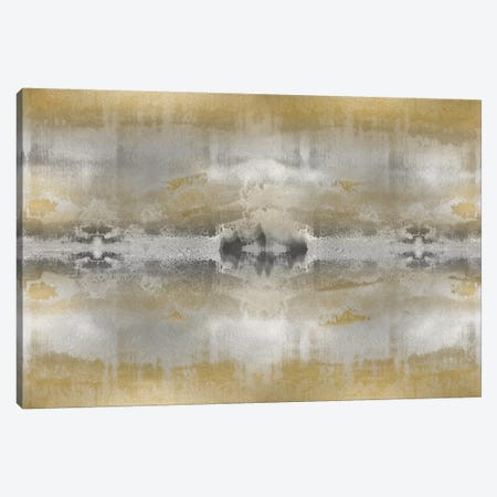 Golden Symmetry Canvas Print #ERO40} by Ellie Roberts Canvas Wall Art