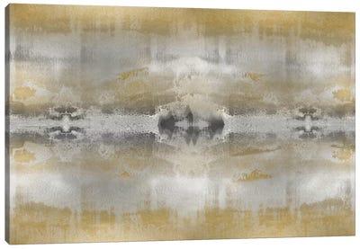 Golden Symmetry Canvas Art Print