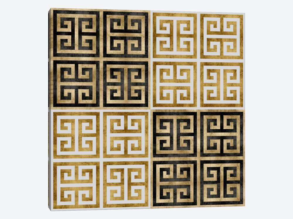Greek Key Wall Decor : Greek key i art print by ellie roberts icanvas