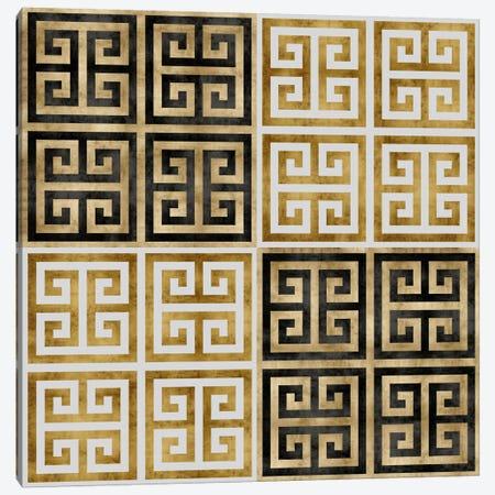 Greek Key I Canvas Print #ERO44} by Ellie Roberts Canvas Print