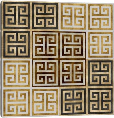 Greek Key II Canvas Art Print