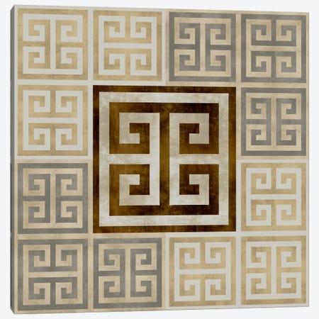 Greek Key III Canvas Print #ERO46} by Ellie Roberts Art Print