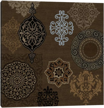 Ornament Collection II Canvas Art Print