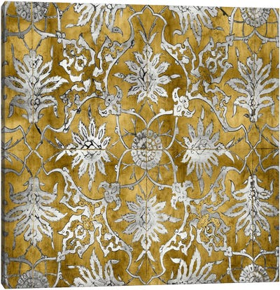 Ornate In Gold And Silver Canvas Art Print
