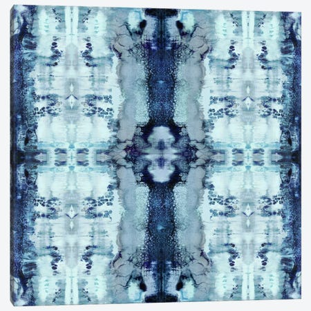 Patterns In Blue Canvas Print #ERO64} by Ellie Roberts Art Print