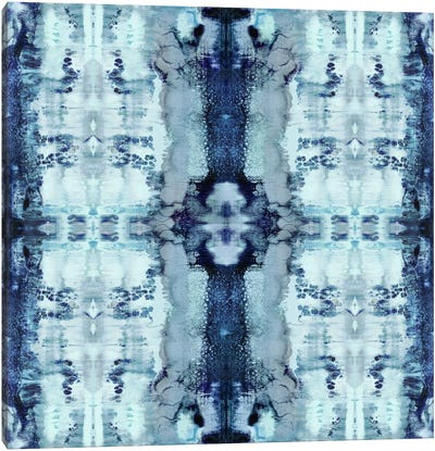 Patterns In Blue Canvas Print #ERO64