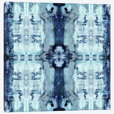 Patterns In Blue Canvas Print #ERO64} by Ellie Roberts Art Print