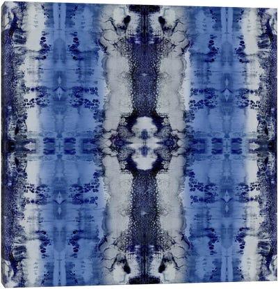 Patterns In Indigo Canvas Print #ERO65