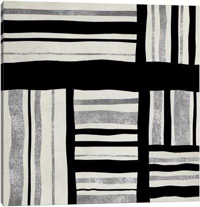 Silver Groove I Canvas Print #ERO68
