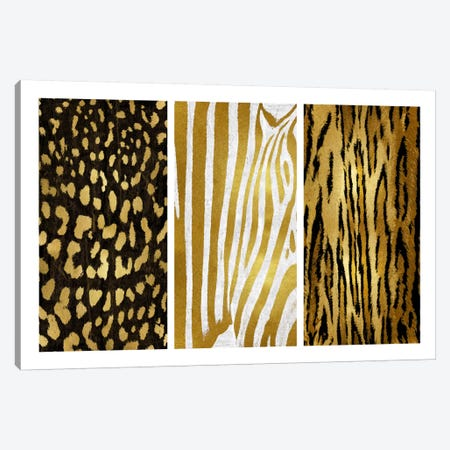 Wild Trio II Canvas Print #ERO85} by Ellie Roberts Art Print