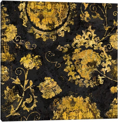 Adornment In Gold I Canvas Art Print