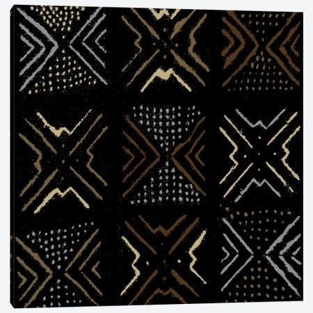 Mudcloth Geometric Design III Canvas Print #ERO98} by Ellie Roberts Canvas Print