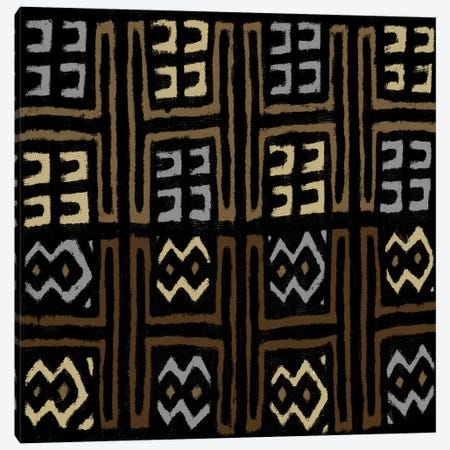 Mudcloth Geometric Design IV Canvas Print #ERO99} by Ellie Roberts Canvas Print