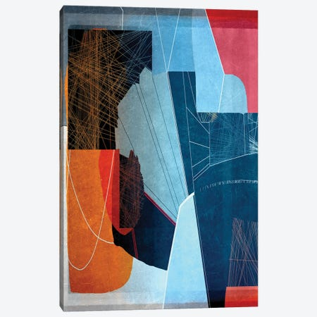 Complex Canvas Print #ERT107} by Roberto Moro Canvas Wall Art