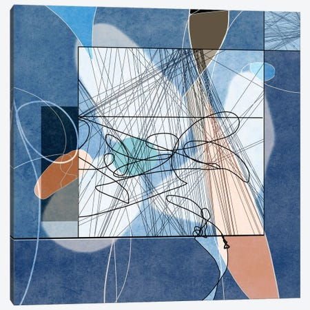 Lines I Canvas Print #ERT140} by Roberto Moro Canvas Art Print