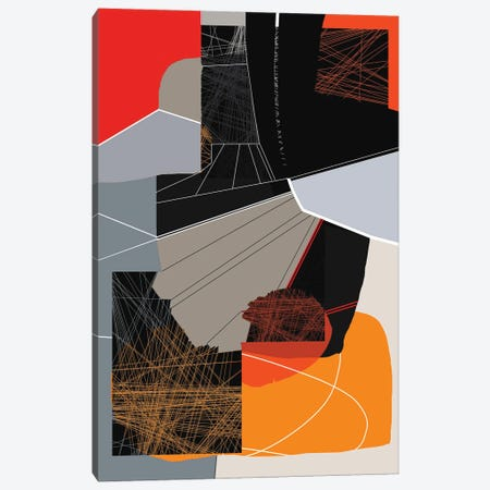 Lines II Canvas Print #ERT149} by Roberto Moro Canvas Print