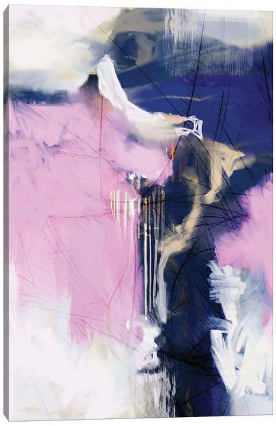 I Love Pink Canvas Art Print