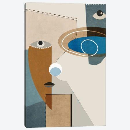 Genuine I Canvas Print #ERT155} by Roberto Moro Art Print